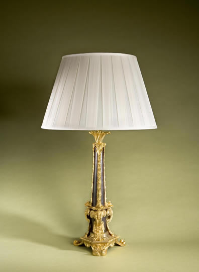 phillips and wood sultan table lamp. Black Bedroom Furniture Sets. Home Design Ideas